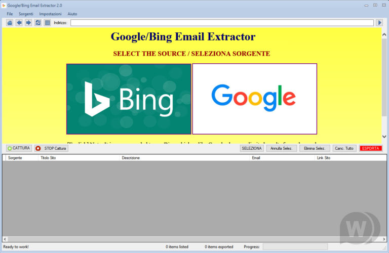 Google / Bing Email Extractor 4.2.0 + Patch