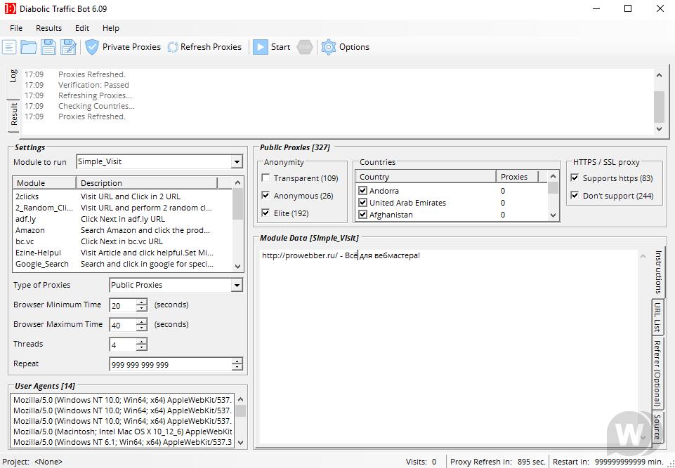 Diabolic Traffic Bot 6.09 [Cracked] - traffic cheat