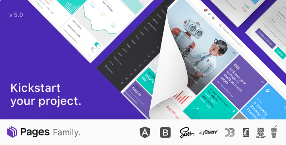 Pages - Admin Dashboard Template