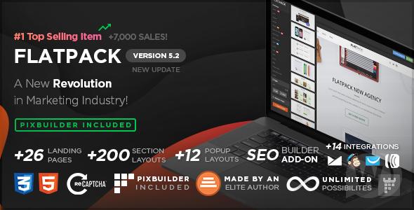 FLATPACK v5.2.2 - Landing Template Designer