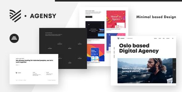 Agensy v1.0 - creative html portfolio template
