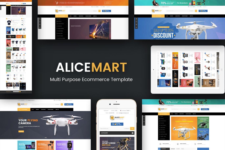 Alice - Multipurpose Responsive Magento Theme