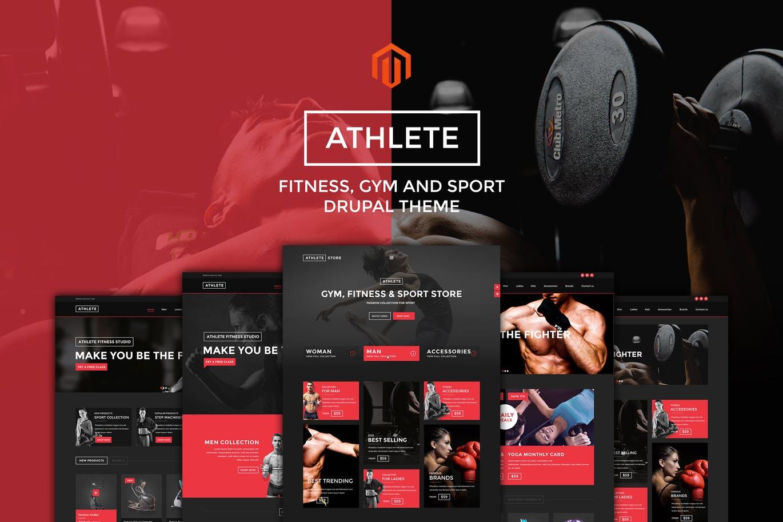 Athlete Fitness - Multipurpose Magento theme