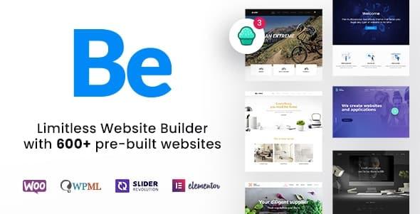 BeTheme 23.0.3 Nulled + Full Demos – Limitless Website Builder for WordPress
