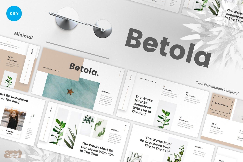 Betola Minimal Keynote