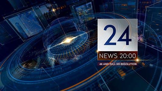 Breaking NEWS 24 TV Broadcast Package