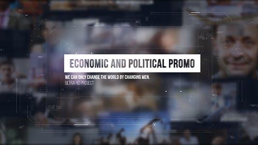 Economic and Political Promo - Digital HUD Slide - Sci-fi Technology - Business Presentations - Images