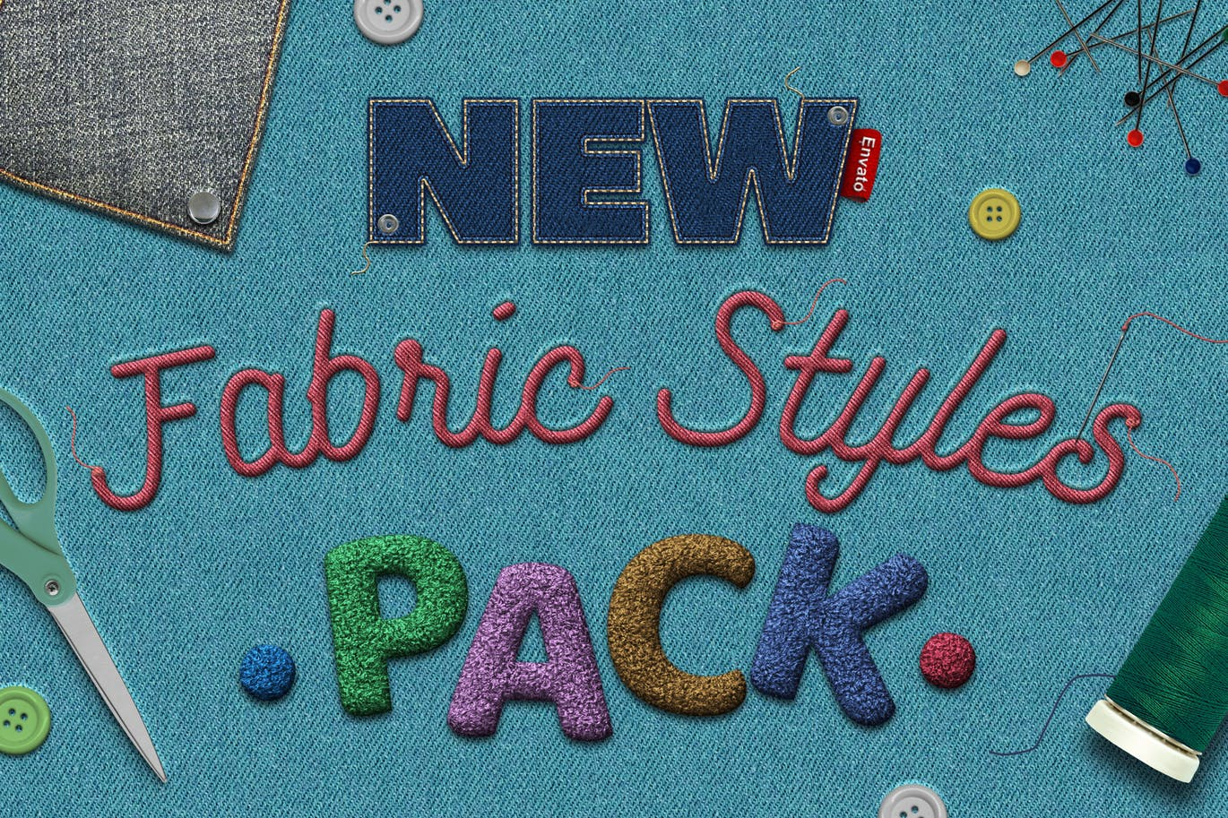 Fabric Text Effects