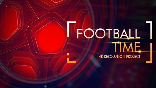 Football Time - Action Promo Id - Sport Broadcast - After Effects