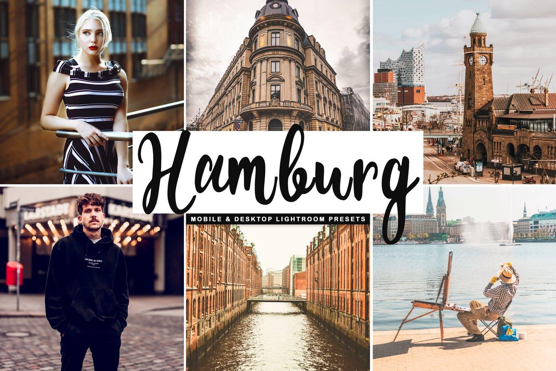Hamburg Mobile & Desktop Lightroom Presets