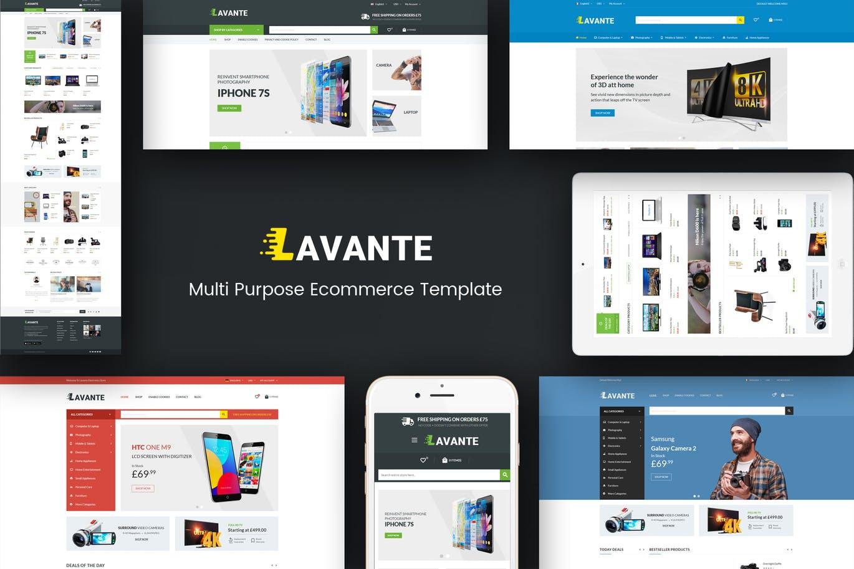 Lavante - Responsive Magento Theme