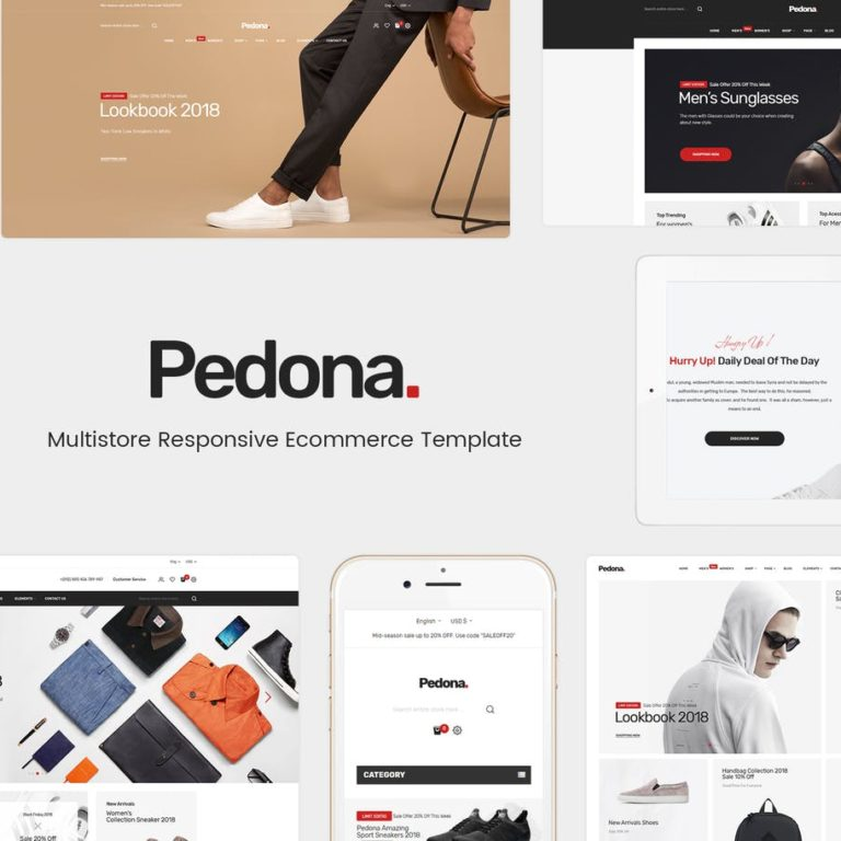 Pedona - Responsive Magento Theme