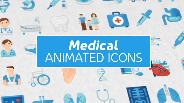 Medical Animated Icons