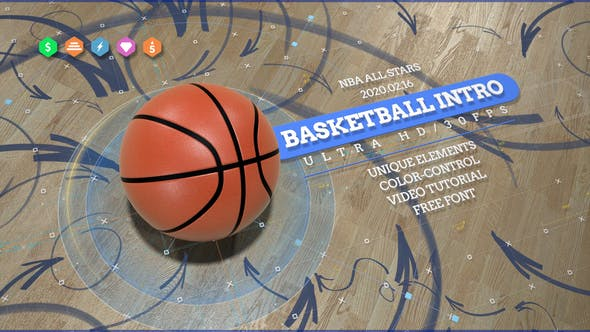 Basketball Opener - Action Sport Promo - After Effects