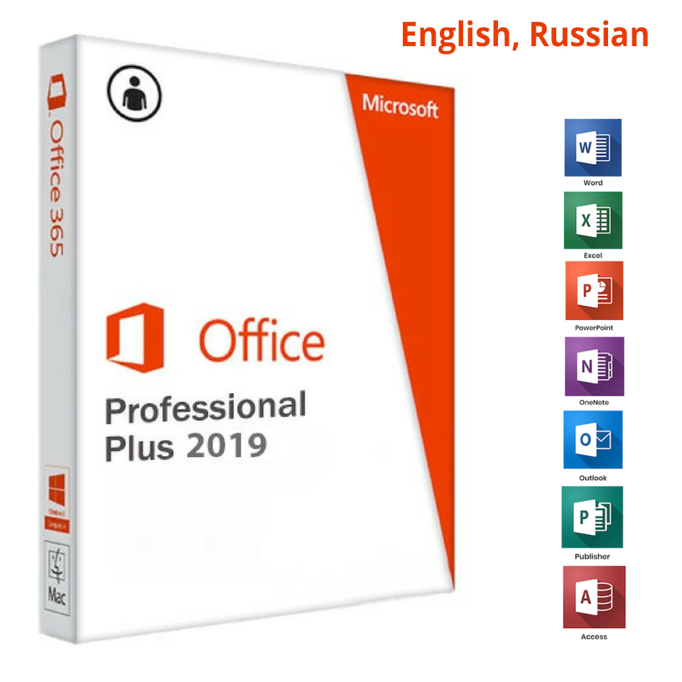 Microsoft Office 2019 Pro Plus 64Bit