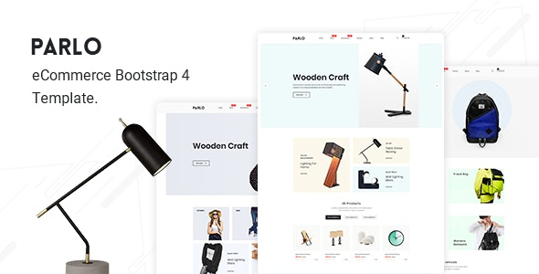 Parlo v1.0 - Bootstrap 4 E-Commerce Template