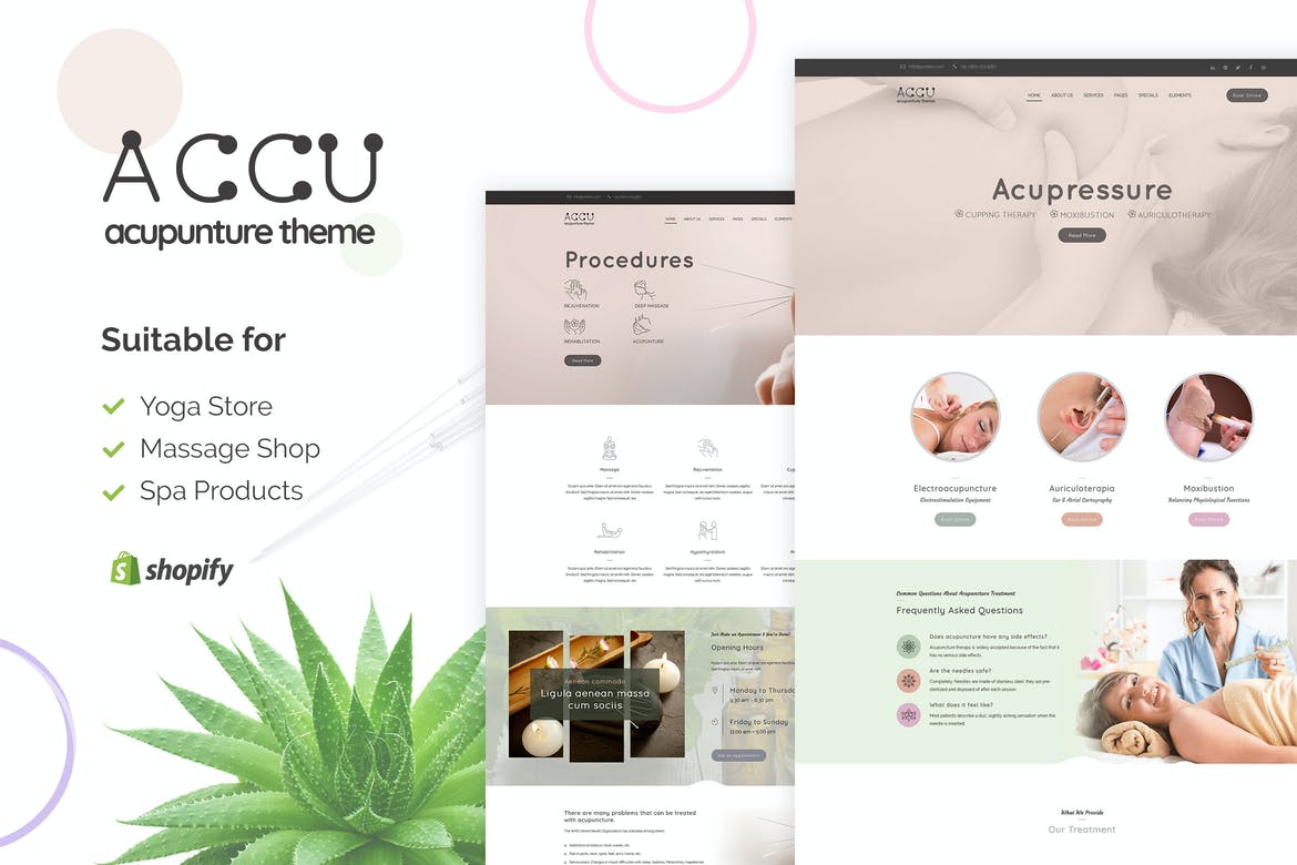 Accu Shopify Medical Supplies Store Theme