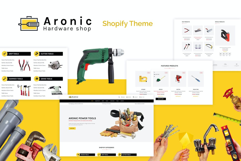 Aronic Hardware & Tool Responsive Shopify Theme