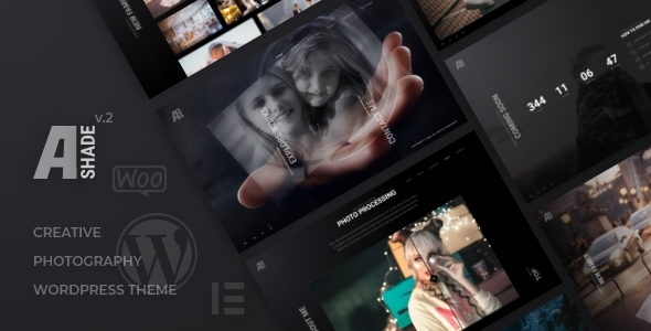 Ashade - Photography HTML Template