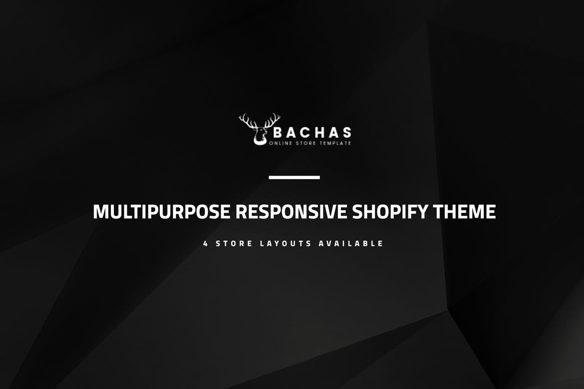 Bachas - Sectioned Multipurpose Shopify Theme