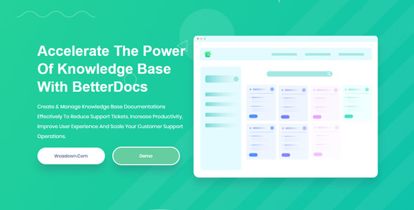 BetterDocs Pro 1.6.1 – Accelerate The Power Of Knowledge Base