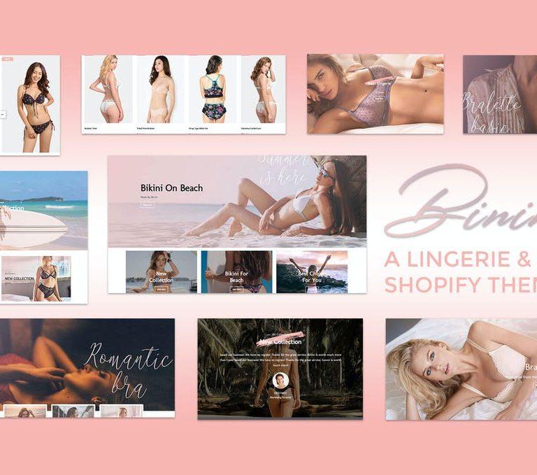 Binim - Lingerie & Bikini Responsive Shopify
