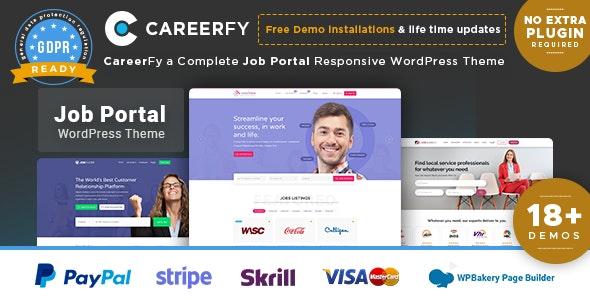Careerfy v3.7.0 - WordPress Job Board Template