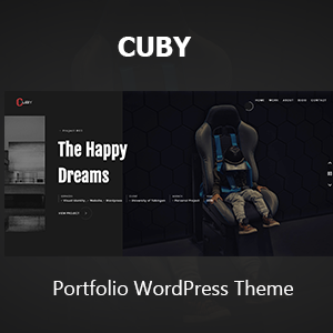 Cuby - Portfolio Showcase HTML Template