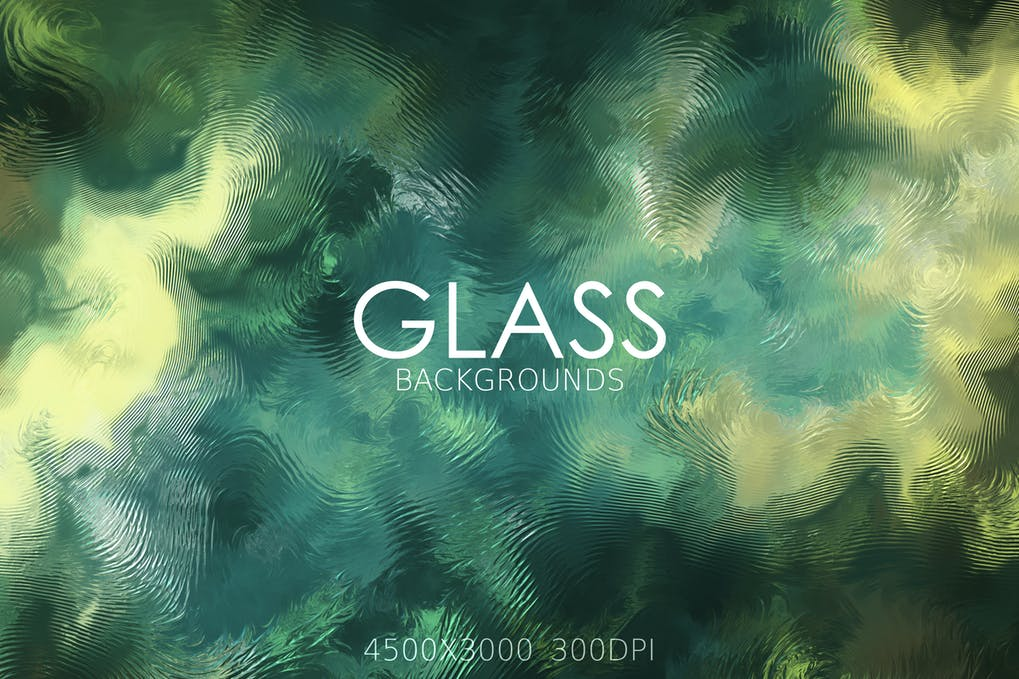 Distorted Glass Backgrounds
