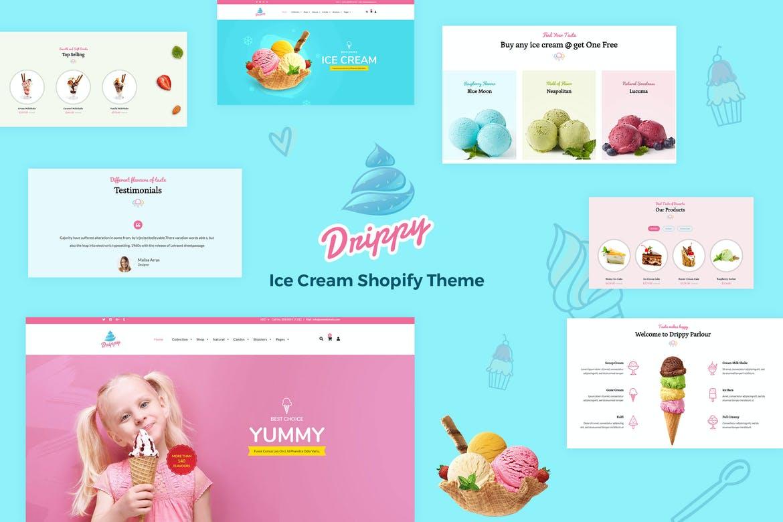 Drippy - Responsive IceCream Shopify Theme