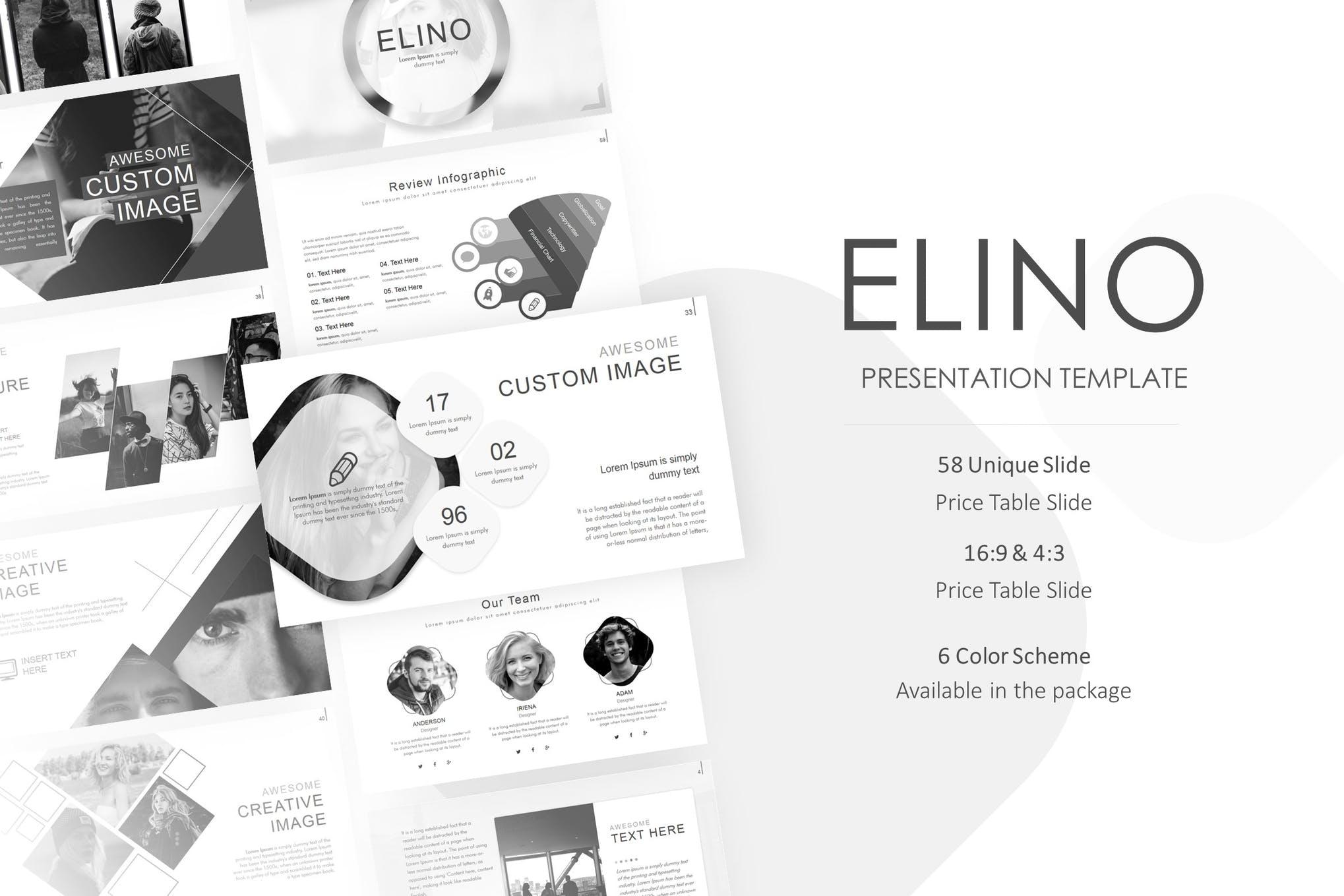 Elino Powerpoint Presentation Template
