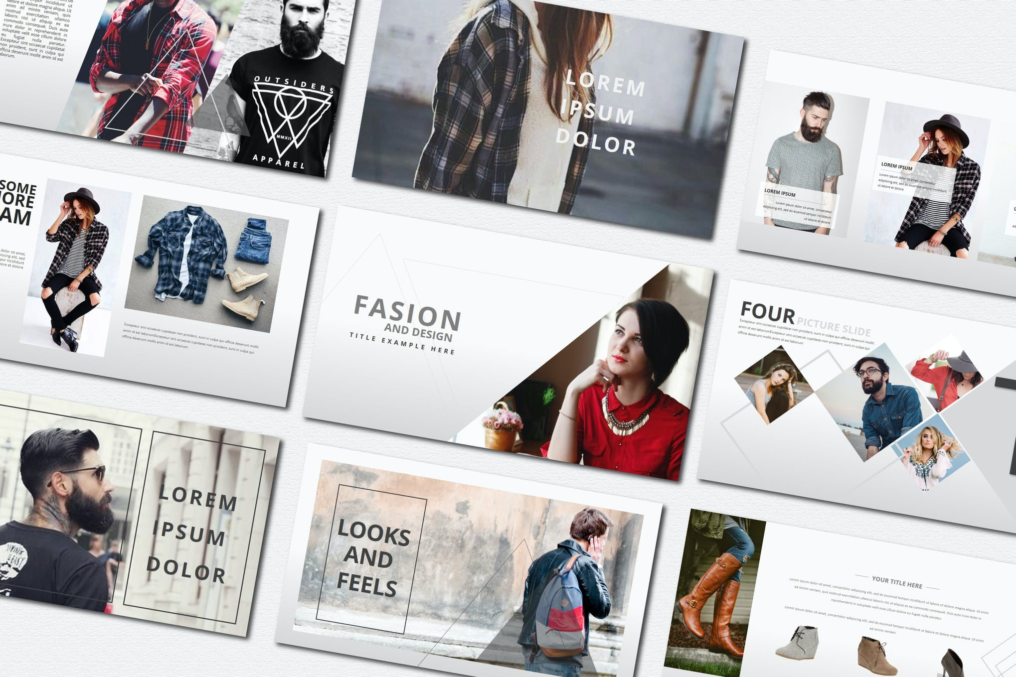 Fasion Powerpoint Templates