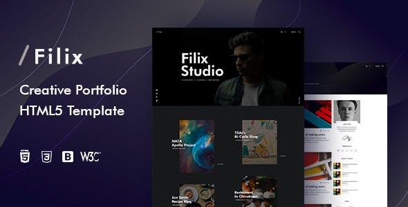 Filix - Creative Portfolio HTML5 Template