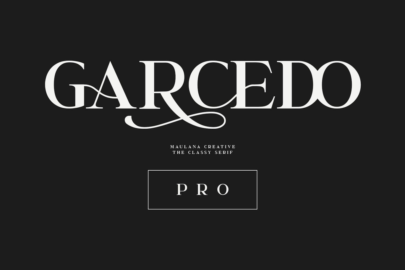 Garcedo Display Serif Font