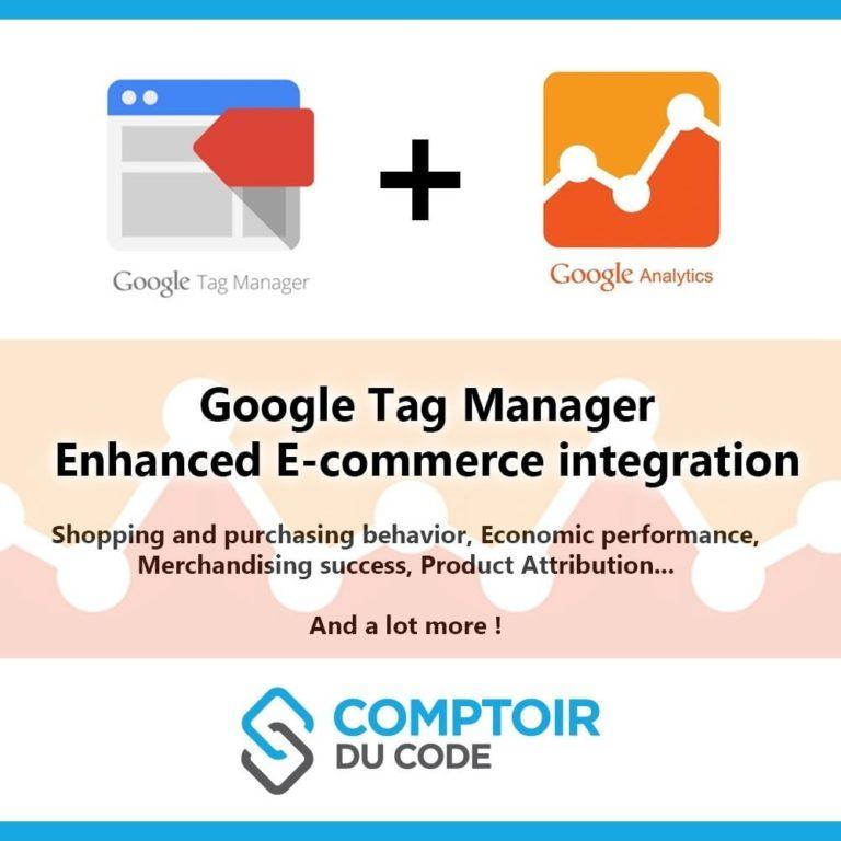 Google Tag Manager Enhanced Ecommerce (UA) Module