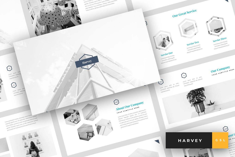 Harvey - Creative Google Slides Template