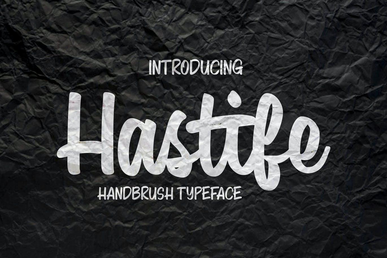 Hastife - Script Font