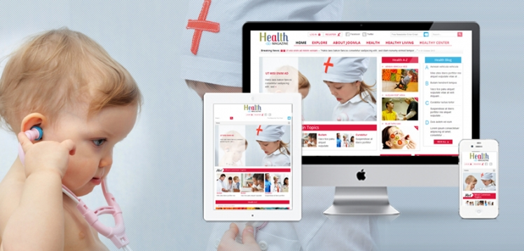Joomla Healthcare Template