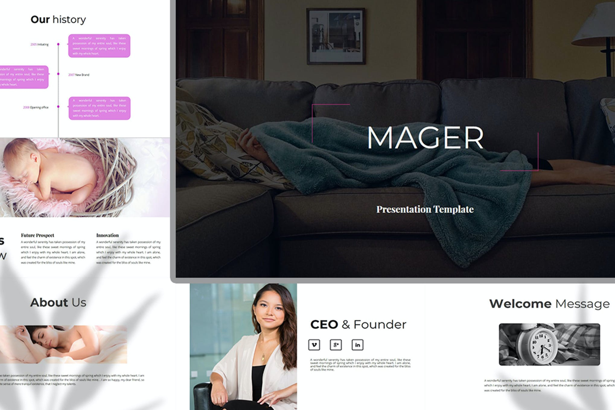 Mager – Business PowerPoint Template