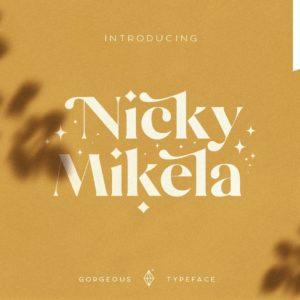 Mikela Light - Gorgeous Typefaces