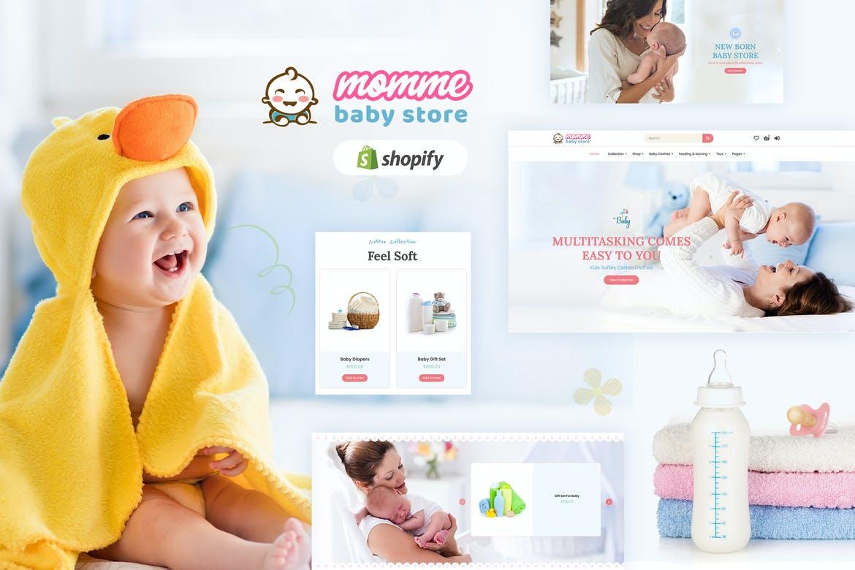 Momme - Shopify Kids, Baby Shop Theme