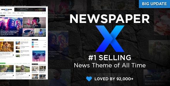 Newspaper v10.3.2 NULLED - WordPress News Template