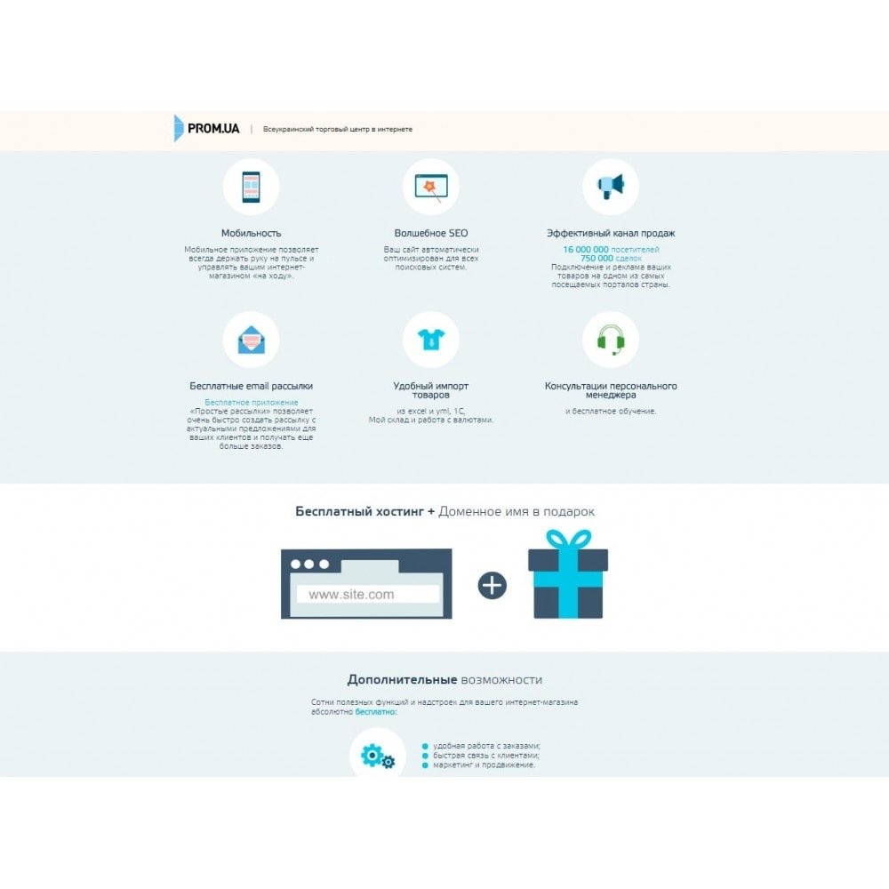 Prom.ua Connector for PrestaShop
