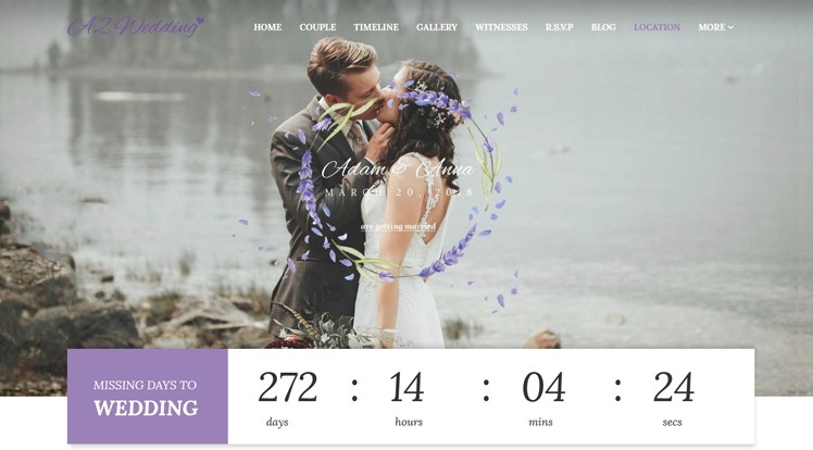 Sj Wedding v3.9.6 - Wedding Template for Joomla