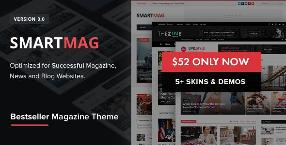 SmartMag v3.3.0 - WordPress News Template