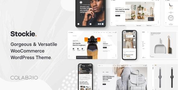 Stockie v1.1.3 - Multi-Purpose Creative WooCommerce Theme