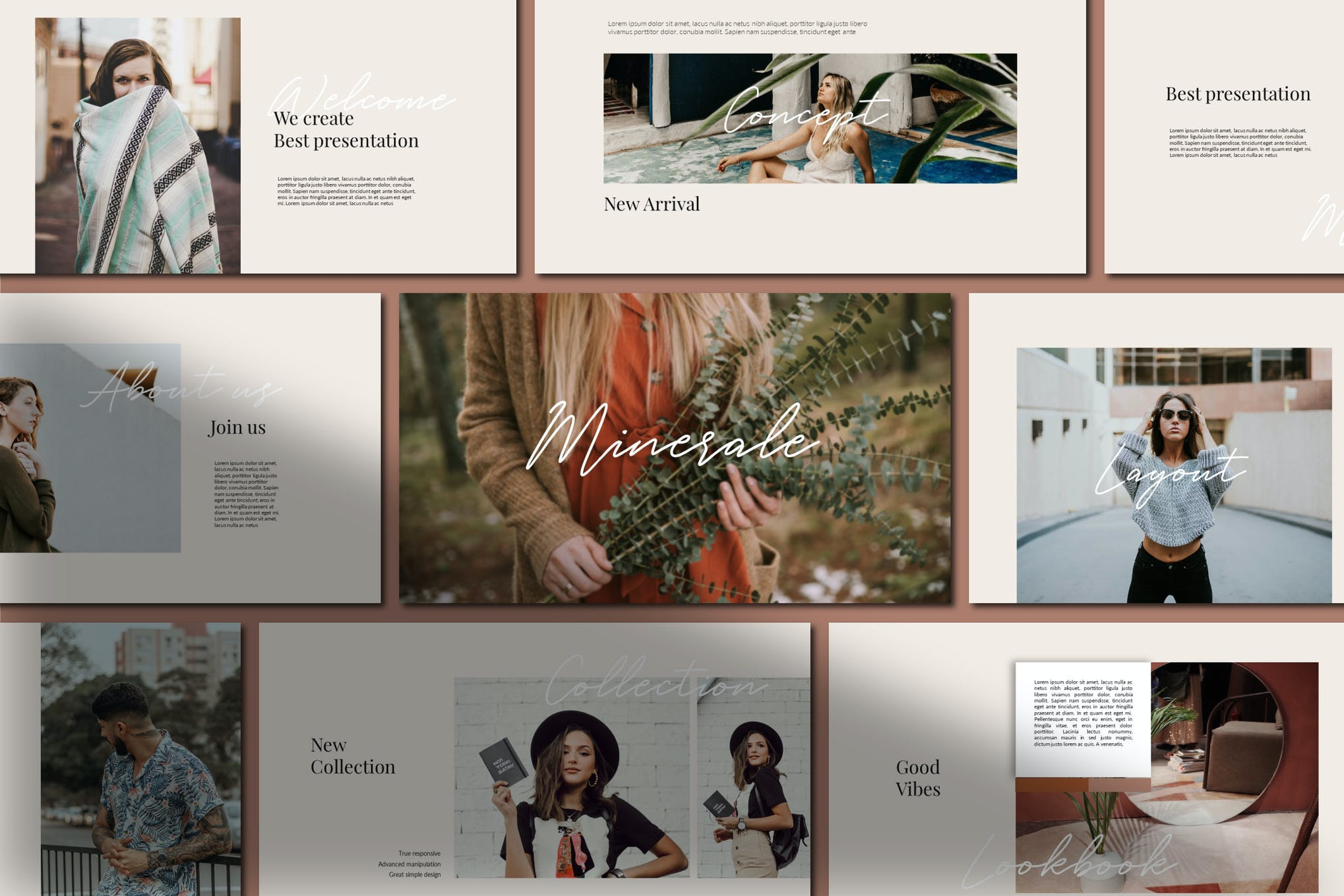 Templates for Powerpoint Mirenale