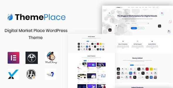 ThemePlace v1.1.4 - WordPress Digital Goods Store
