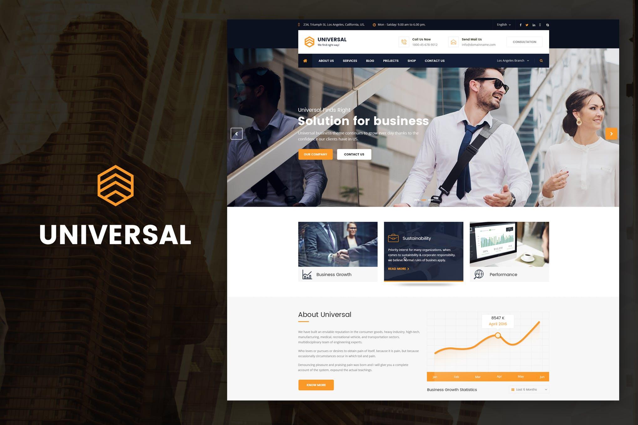 Universal - Drupal Theme