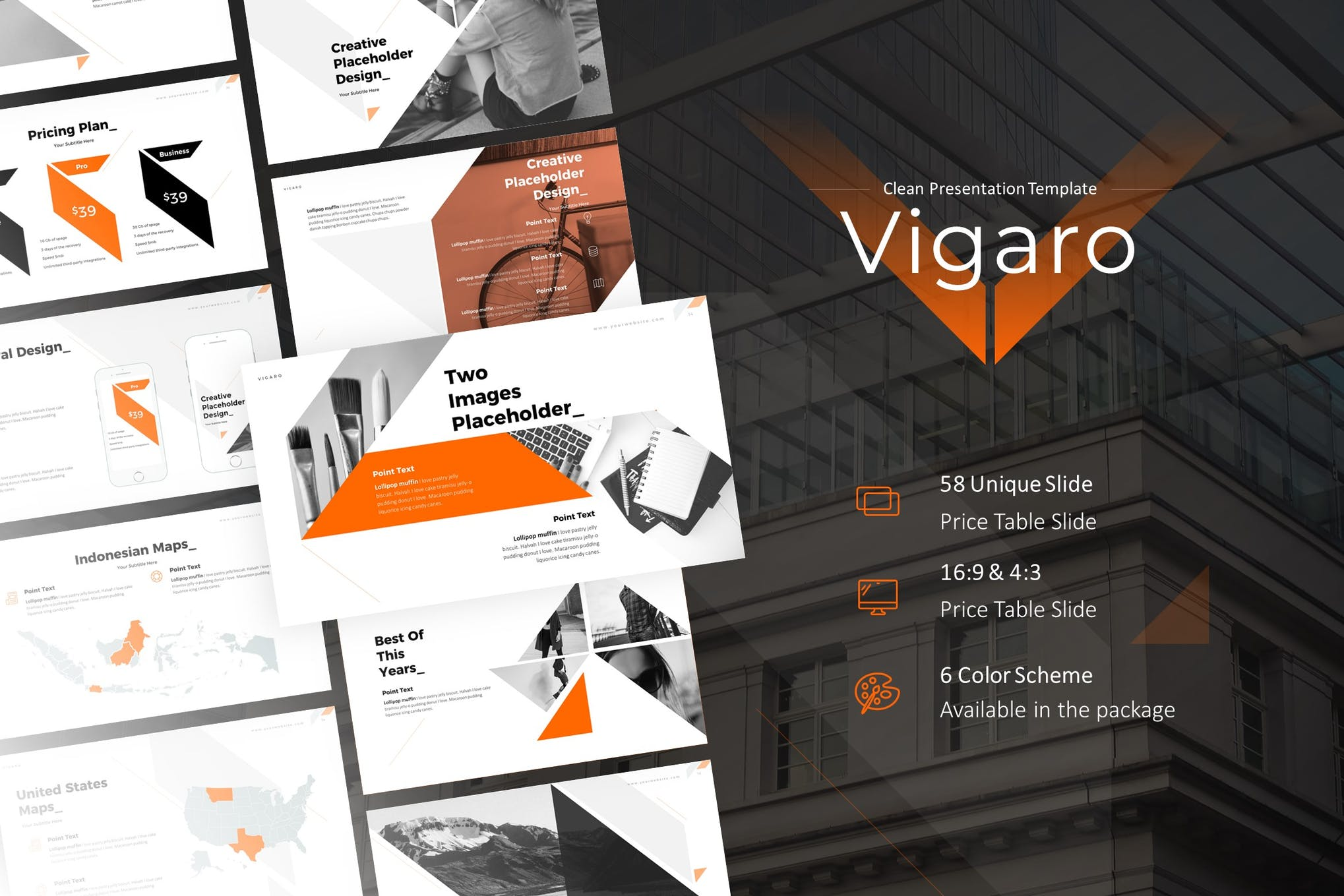 Vigaro PowerPoint Presentation Template